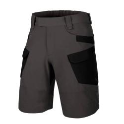 Pohodniške kratke hlače Helikon-Tex OTP - temno sive/črne