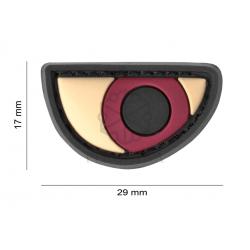 Velcro PVC našitek JTG Angry Eyes