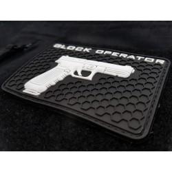 Velcro PVC našitek Polenar Tactical Glock Operator