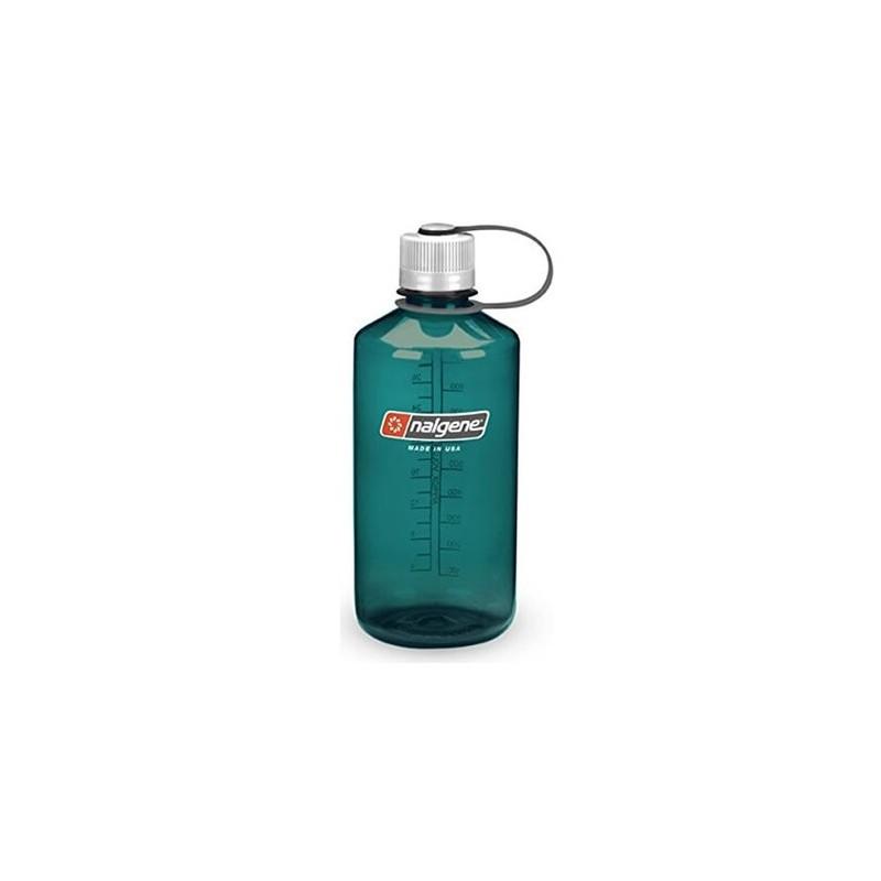 Steklenica za vodo Nalgene Narrow Mouth 1 L - ocean green