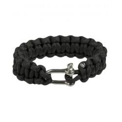 Paracord bracelet with metal closure 15 mm
