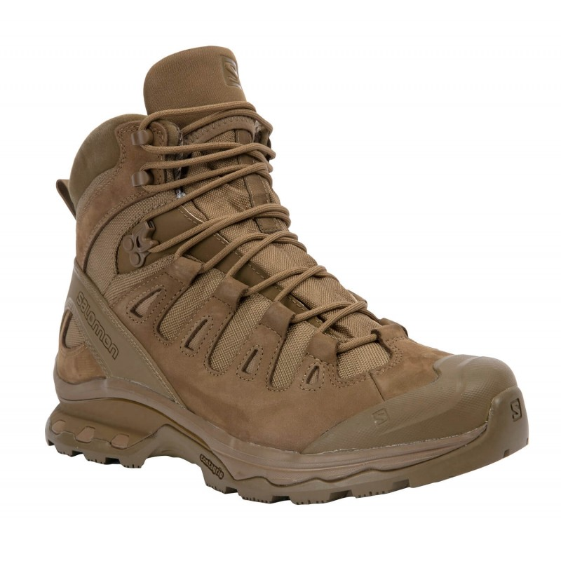 Vojaški škornji Salomon QUEST 4D GTX FORCES 2 EN - kojot