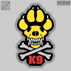 Velcro našitek MSM K9 - barvni