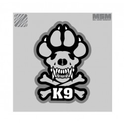 Velcro našitek MSM K9, krajši