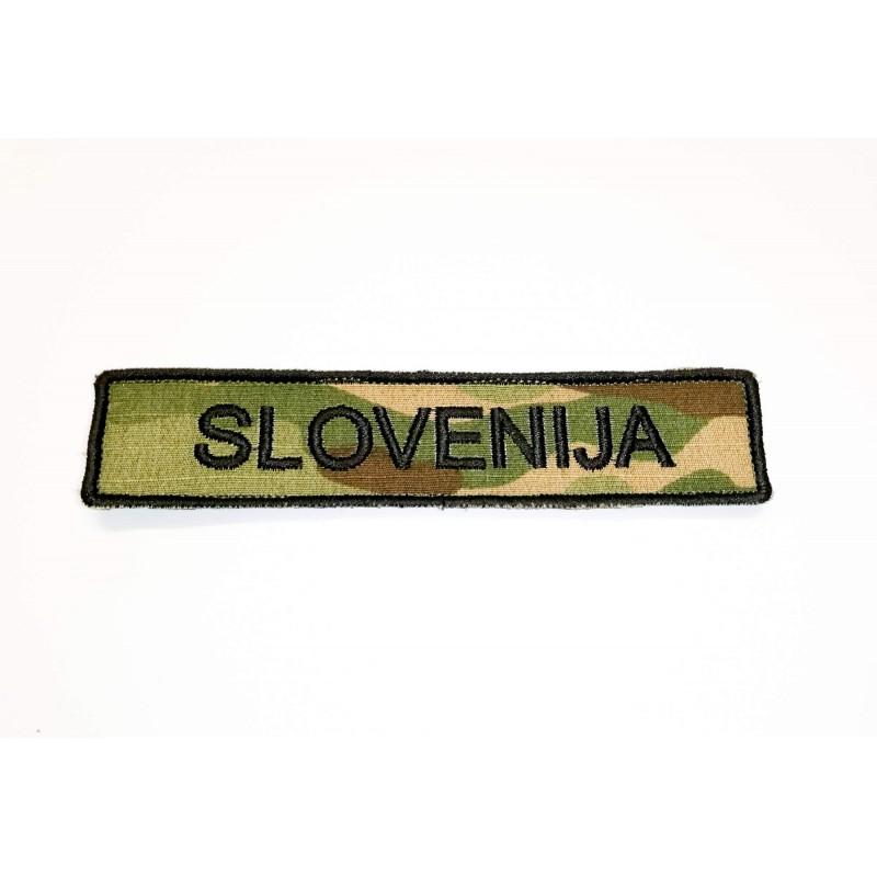 Velcro našitek Perunika Slovenija