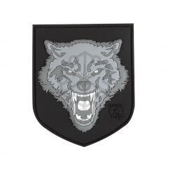 Velcro PVC našitek JTG Wolf Shield - siv