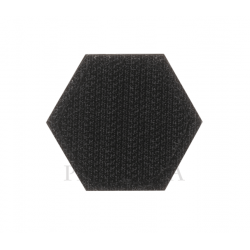 Velcro PVC našitek JTG Paramedic Hexagon - velcro ozadje