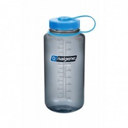 Steklenica za vodo Nalgene Wide Mouth 1 L - siva