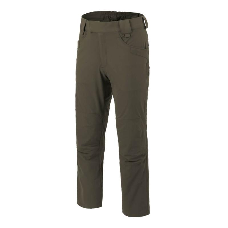 Pohodniške hlače Helikon-Tex Trekking Tactical - VersaStretch - taiga zelena