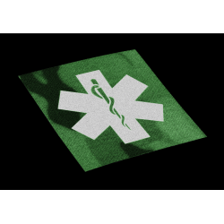 IR velcro našitek Clawgear EMT