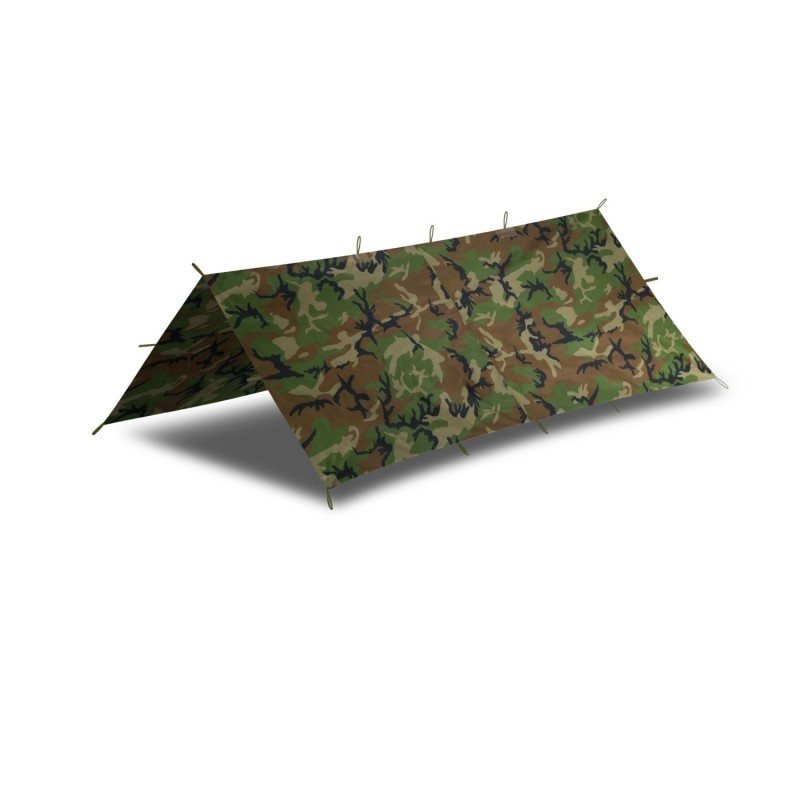 Šotorsko krilo Helikon-Tex Supertarp Small - US Woodland