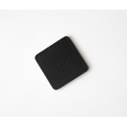 Templar's Gear Logo PVC Velcro patch - zadnja stran