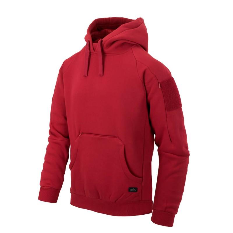 Jopica s kapuco Helikon-Tex Urban Tactical Hoodie Lite (kenguru) - rdeča