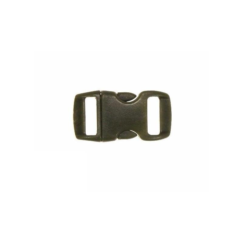Perunika zaponka za paracord zapestnico - olivno zelena