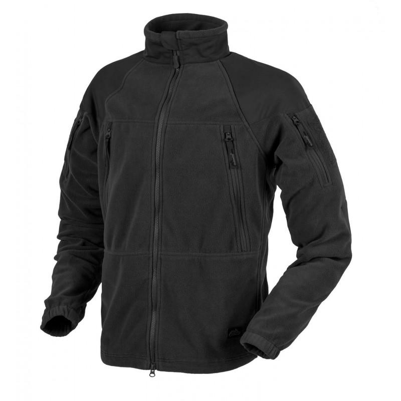 Flis jakna Helikon-Tex Stratus - črna