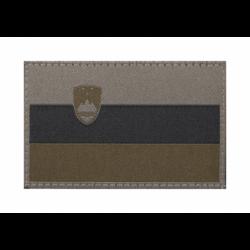 Velcro našitek Clawgear maskirna slovenska zastava - olivno zelena