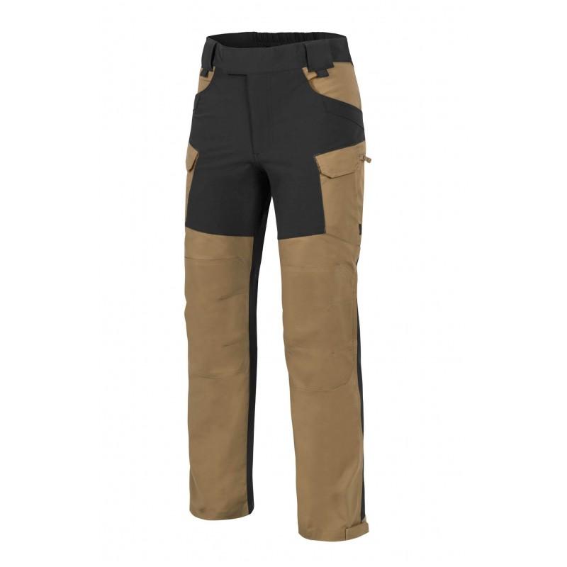 Pohodniške hlače Helikon-tex Hybrid outback - črne/kojot