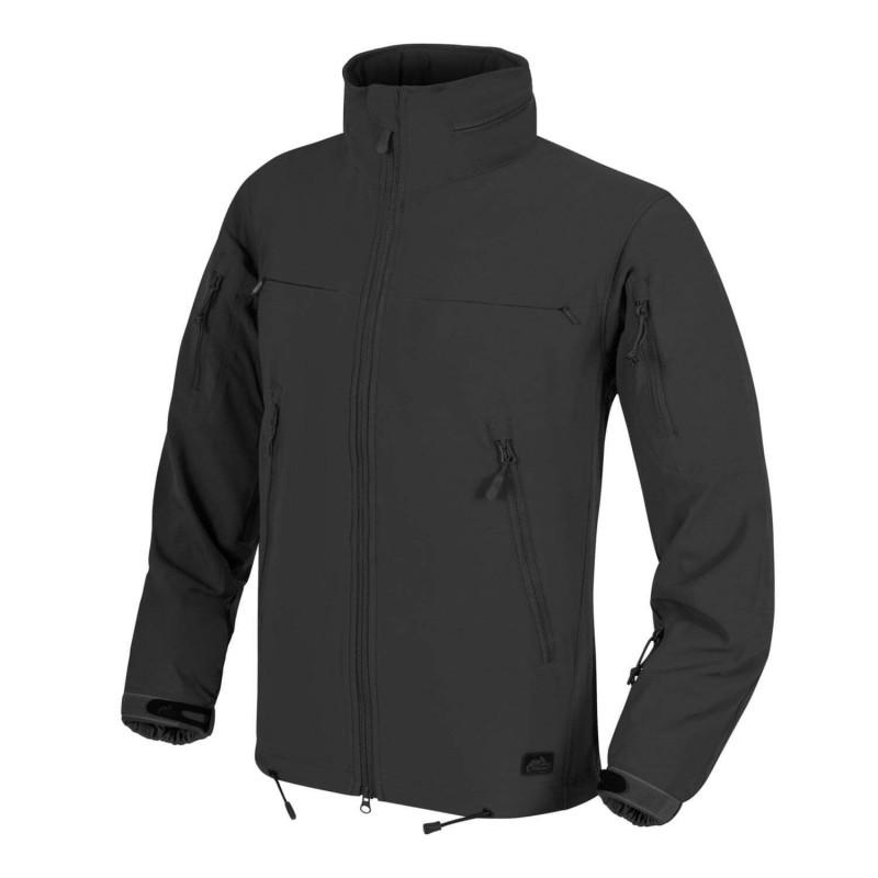 Taktična softshell jakna Helikon-Tex Cougar QSA - črna
