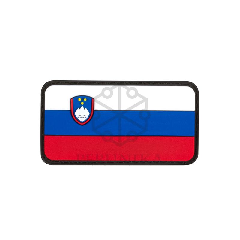 PVC Velcro našitek JTG slovenska zastava