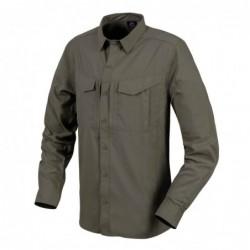 Taktična srajca z dolgimi rokavi Helikon-Tex Defender Mk2 Tropical - temno olivno siva