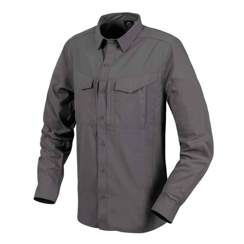 Taktična srajca z dolgimi rokavi Helikon-Tex Defender Mk2 Tropical - temno siva