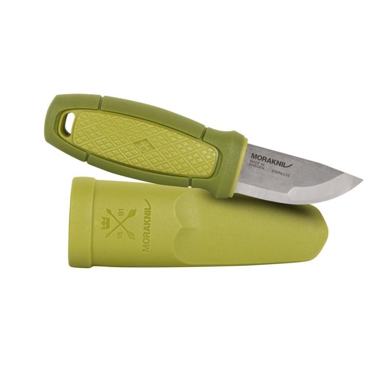 Nož s kresilom Morakniv Eldris Neck Knife - nerjaveče jeklo - zelen