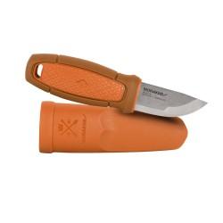Nož s kresilom Morakniv Eldris Neck Knife - nerjaveče jeklo - oranžen