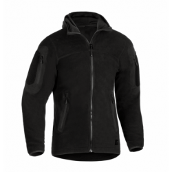 Flis jakna s kapuco Clawgear Aviceda MK. II - črna