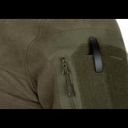Flis jakna s kapuco Clawgear Aviceda MK. II - olivno zelena