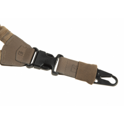 Enotočkovni pas za puško Clawgear Snap Hook - kojot