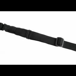 Enotočkovni pas za puško Clawgear Paracord - črn