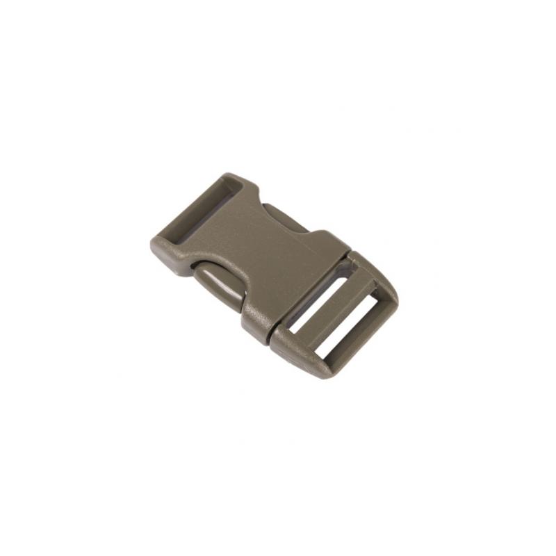 Rezervna zaponka ITW Nexus Side Release Buckle 20 mm - olivno zelena