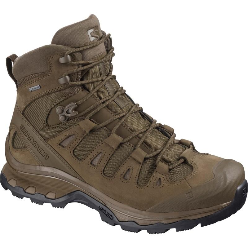 Vojaški škornji Salomon QUEST 4D GTX FORCES 2 EN - Slate black