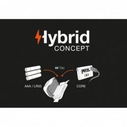 Taktična naglavna svetilka Petzl Tactikka+ - Hybrid concept