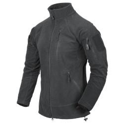 Flis jakna Helikon-Tex Alpha Tactical - temno siva