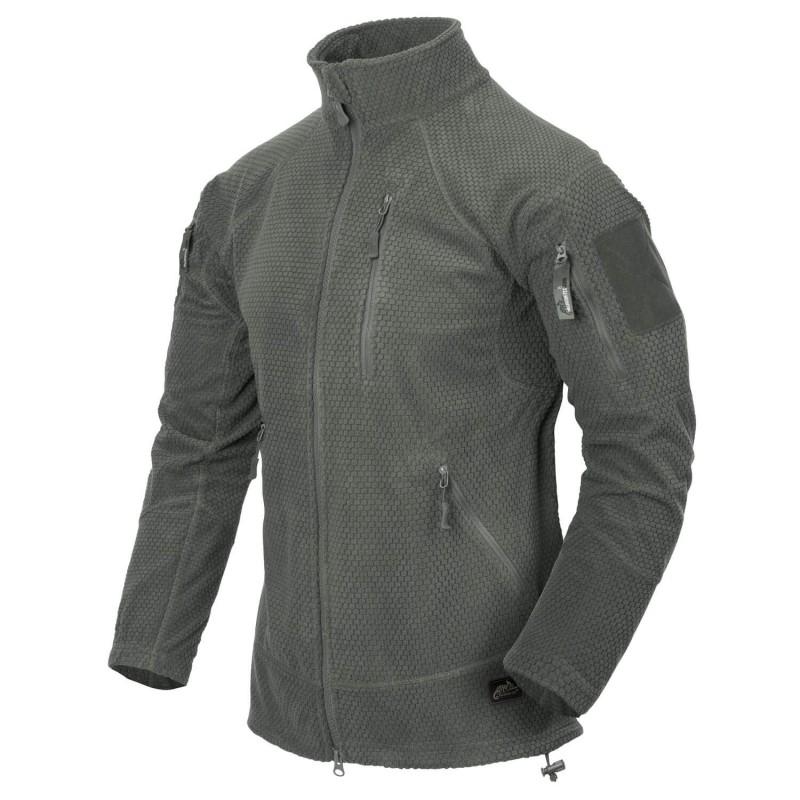 Flis jakna Helikon-Tex Alpha Tactical - olivno siva