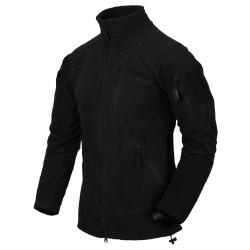 Flis jakna Helikon-Tex Alpha Tactical - črna