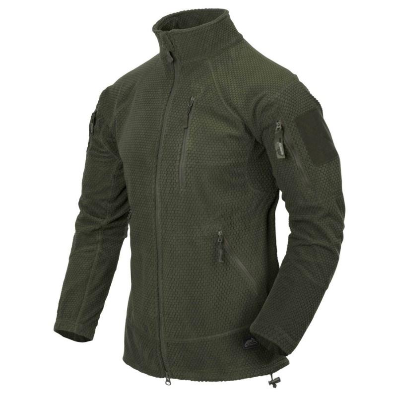 Flis jakna Helikon-Tex Alpha Tactical - olivno zelena
