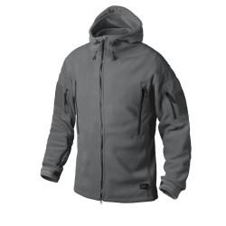 Flis jakna Helikon-Tex Patriot - temno siva