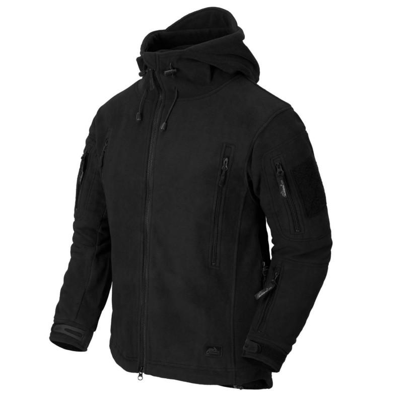 Flis jakna Helikon-Tex Patriot - črna