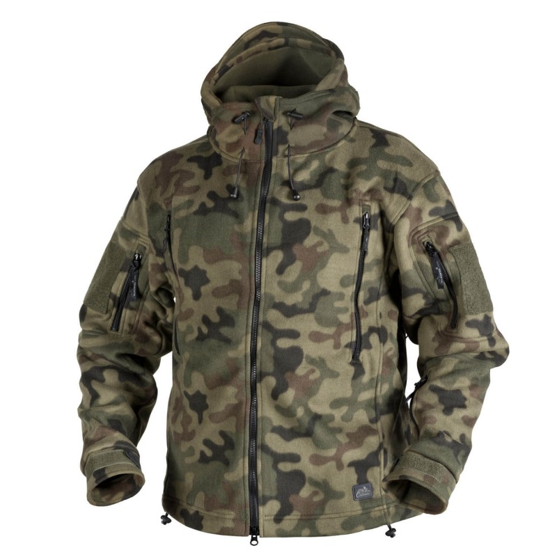 Flis jakna Helikon-Tex Patriot - PL woodland