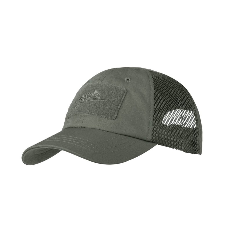 Kapa s senčnikom Helikon-Tex Vent ripstop - olivno siva