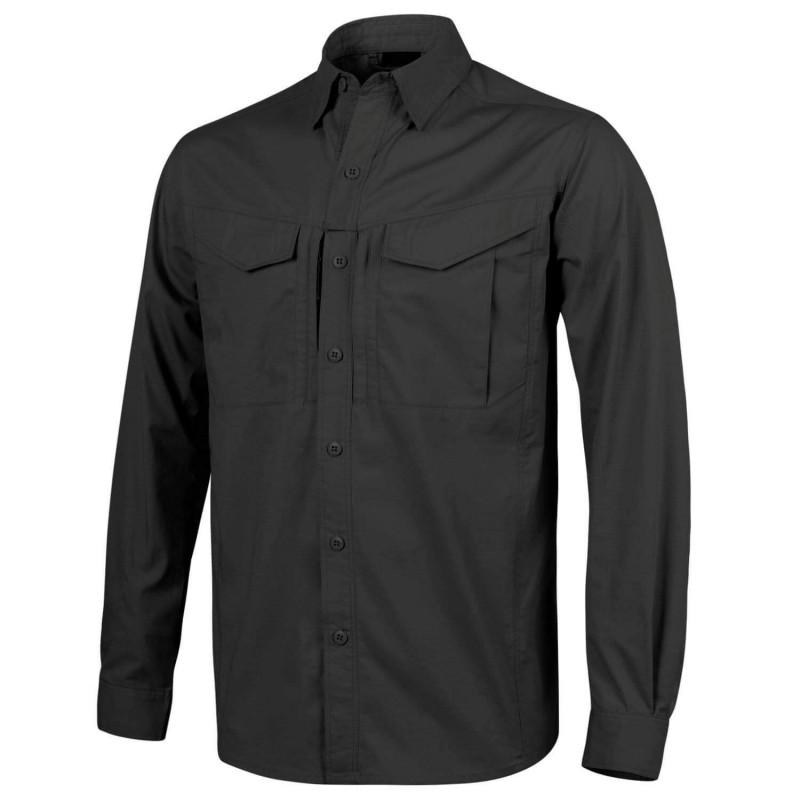 Taktična srajca z dolgimi rokavi Helikon-Tex Defender Mk2 - črna