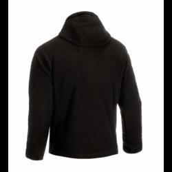 Flis jakna s kapuco Clawgear Milvago MK. II - črna