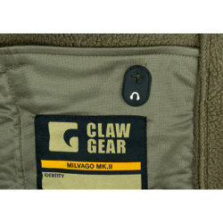 Flis jakna s kapuco Clawgear Milvago MK. II - olivno zelena