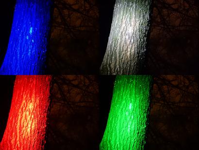 Različne barve svetlobe